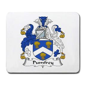 Pumfrey Coat of Arms Mouse Pad