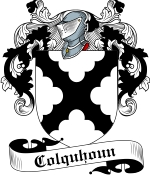 Colquhoun Family Crest / Colquhoun Coat of Arms JPG Download