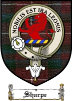 Sharpe Clan Badge / Tartan FREE preview