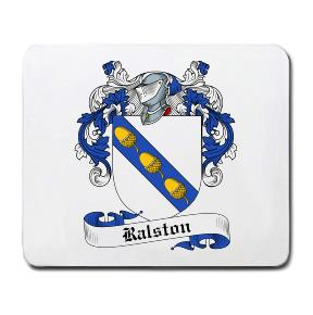 Ralston Coat of Arms Mouse Pad