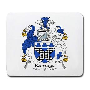 Ramage Coat of Arms Mouse Pad