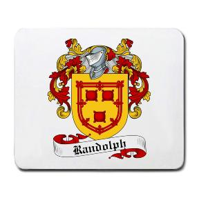 Randolph Coat of Arms Mouse Pad