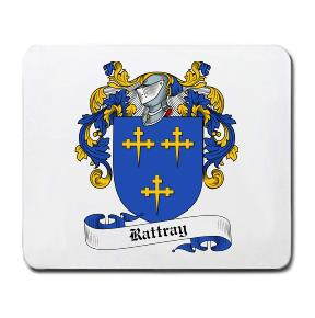 Rattray Coat of Arms Mouse Pad