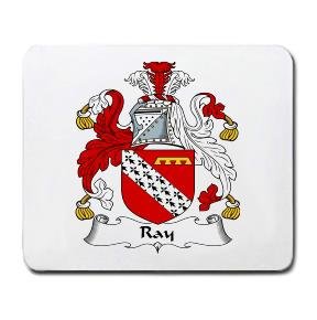 Ray Coat of Arms Mouse Pad