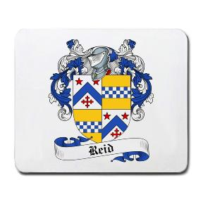 Reid Coat of Arms Mouse Pad