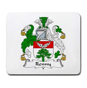 Renny Coat of Arms Mouse Pad