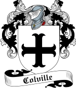 Colville Family Crest / Colville Coat of Arms JPG Download