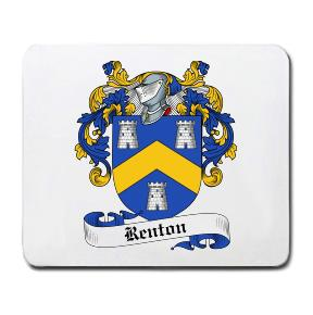 Renton Coat of Arms Mouse Pad