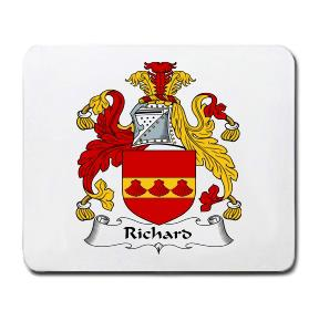 Richard Coat of Arms Mouse Pad