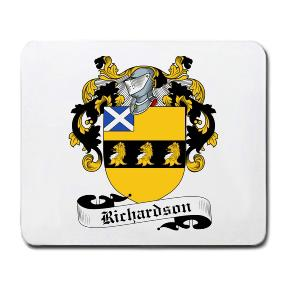 Richardson Coat of Arms Mouse Pad