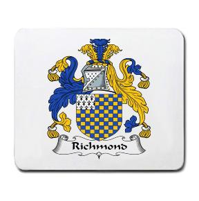 Richmond Coat of Arms Mouse Pad