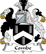 Combe Family Crest / Combe Coat of Arms JPG Download