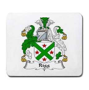 Rigg Coat of Arms Mouse Pad