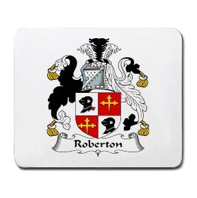 Roberton Coat of Arms Mouse Pad