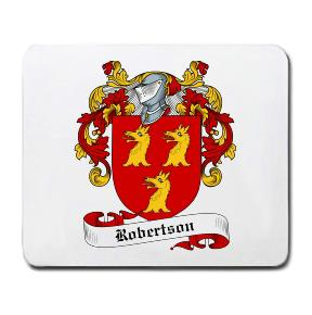 Robertson Coat of Arms Mouse Pad