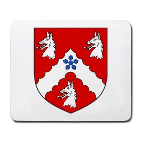Robinson Coat of Arms Mouse Pad