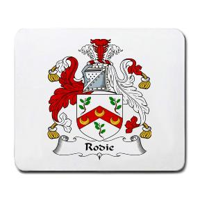 Rodie Coat of Arms Mouse Pad