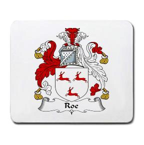 Roe Coat of Arms Mouse Pad