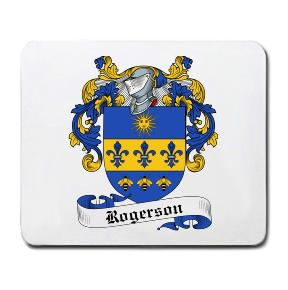 Rogerson Coat of Arms Mouse Pad