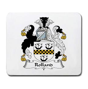 Rolland Coat of Arms Mouse Pad
