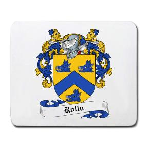 Rollo Coat of Arms Mouse Pad