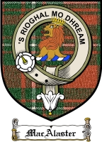 Macalaster Clan Badge / Tartan FREE preview