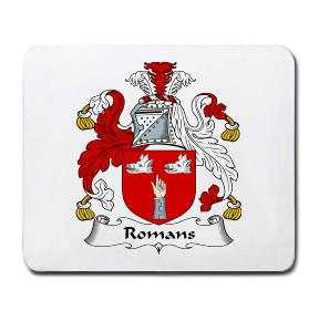 Romans Coat of Arms Mouse Pad