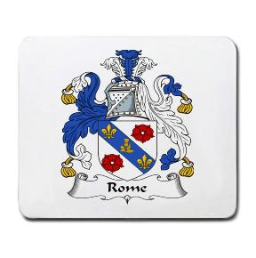 Rome Coat of Arms Mouse Pad