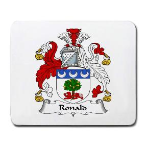 Ronald Coat of Arms Mouse Pad