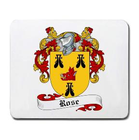 Rose Coat of Arms Mouse Pad