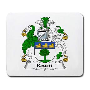 Rouett Coat of Arms Mouse Pad