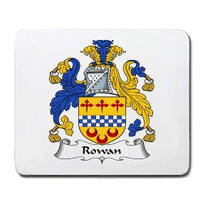 Rowan Coat of Arms Mouse Pad