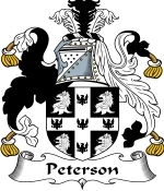 Peterson Family Crest / Peterson Coat of Arms JPG Download