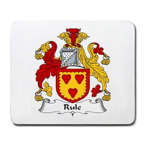 Rule Coat of Arms Mouse Pad