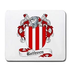 Ruthven Coat of Arms Mouse Pad