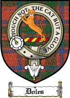 Doles Clan Badge / Tartan FREE preview