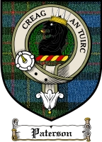 Paterson Clan Badge / Tartan FREE preview