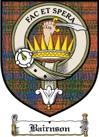 Bairnson Clan Badge / Tartan FREE preview