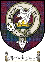 Fotheringham Clan Badge / Tartan FREE preview