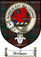 Neilson Clan Badge / Tartan FREE preview