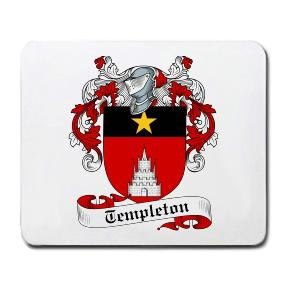 Templeton Coat of Arms Mouse Pad