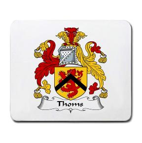 Thoms Coat of Arms Mouse Pad