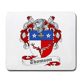 Thomson Coat of Arms Mouse Pad