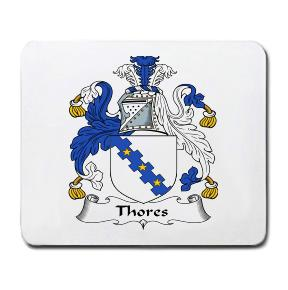 Thores Coat of Arms Mouse Pad
