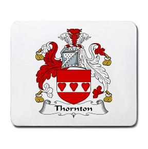 Thornton Coat of Arms Mouse Pad