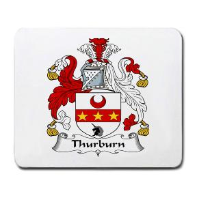Thurburn Coat of Arms Mouse Pad