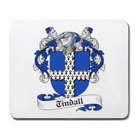 Tindall Coat of Arms Mouse Pad