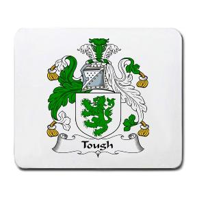 Tough Coat of Arms Mouse Pad
