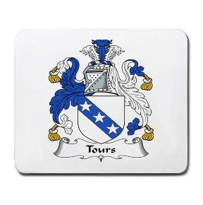 Tours Coat of Arms Mouse Pad