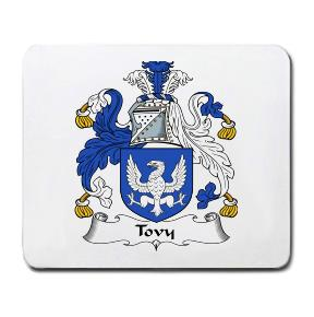 Tovy Coat of Arms Mouse Pad